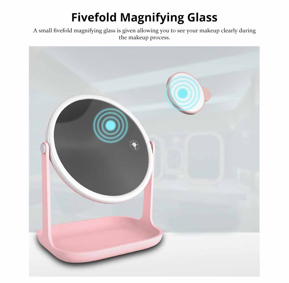 Makeup LED Mirror - Smart Touch Mirror with Lights For Vanity 4