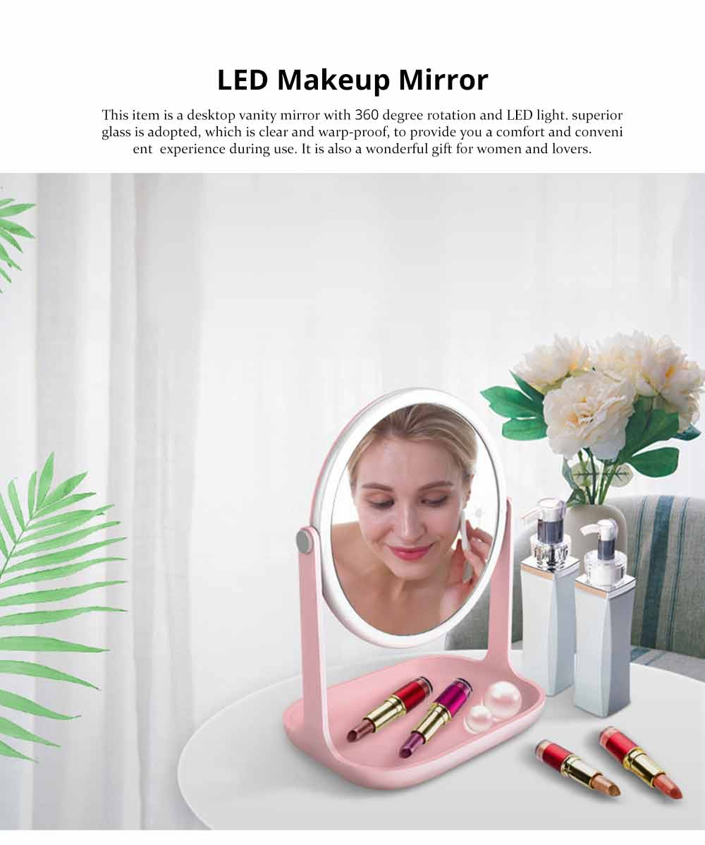 Makeup LED Mirror - Smart Touch Mirror with Lights For Vanity 0