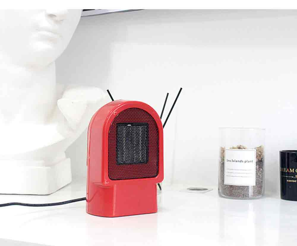 Handy Heater - Portable Mini Furnace, 500W High Power Small Winter Fan Hot Air Warmer for Home Office 7