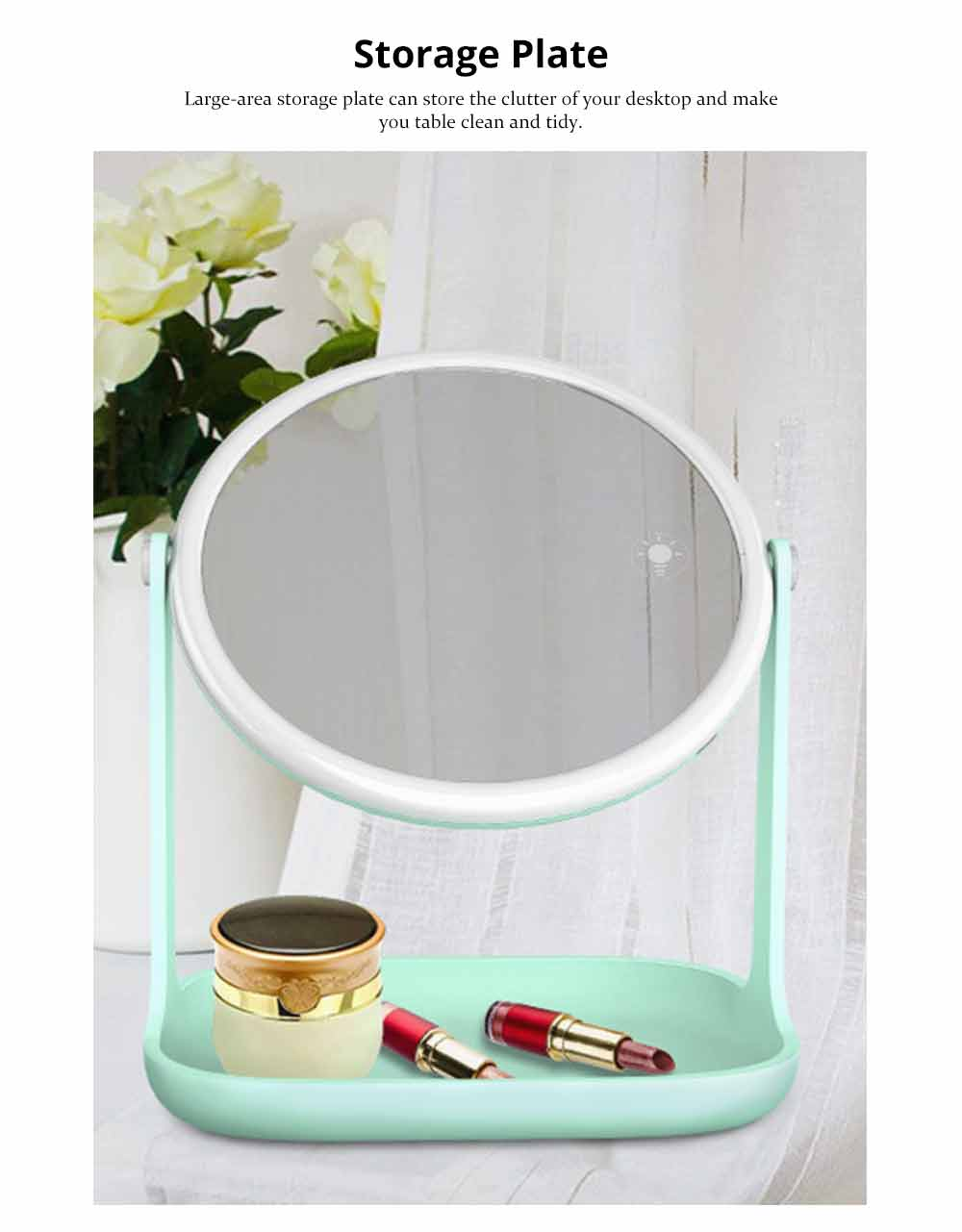 Makeup LED Mirror - Smart Touch Mirror with Lights For Vanity 5