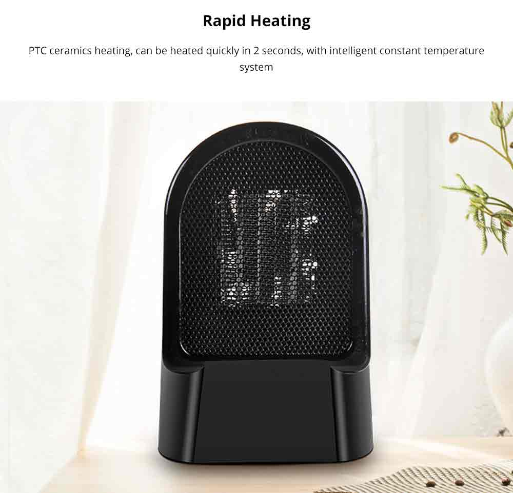 Handy Heater - Portable Mini Furnace, 500W High Power Small Winter Fan Hot Air Warmer for Home Office 1
