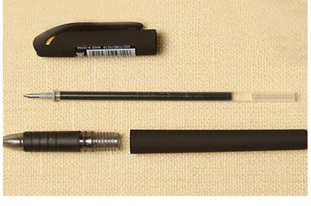 Neutral Pen - Black Mature Business Gel Pen, Office Signature Student Write, 0.5mm 3