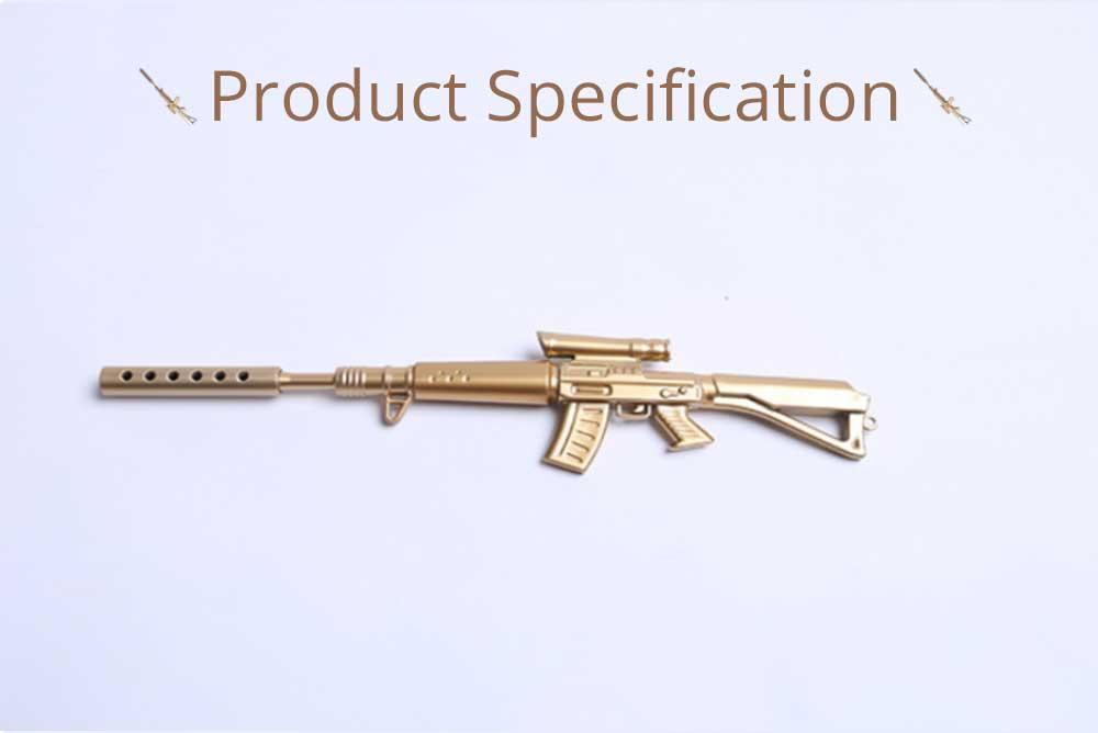 Cool Pen - Sniper Rifle Sculpt Black Neutral Pen, Unique Pen for Gifts 7