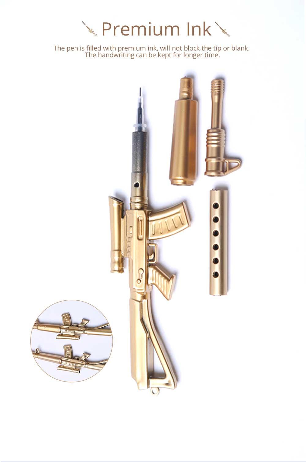 Cool Pen - Sniper Rifle Sculpt Black Neutral Pen, Unique Pen for Gifts 6