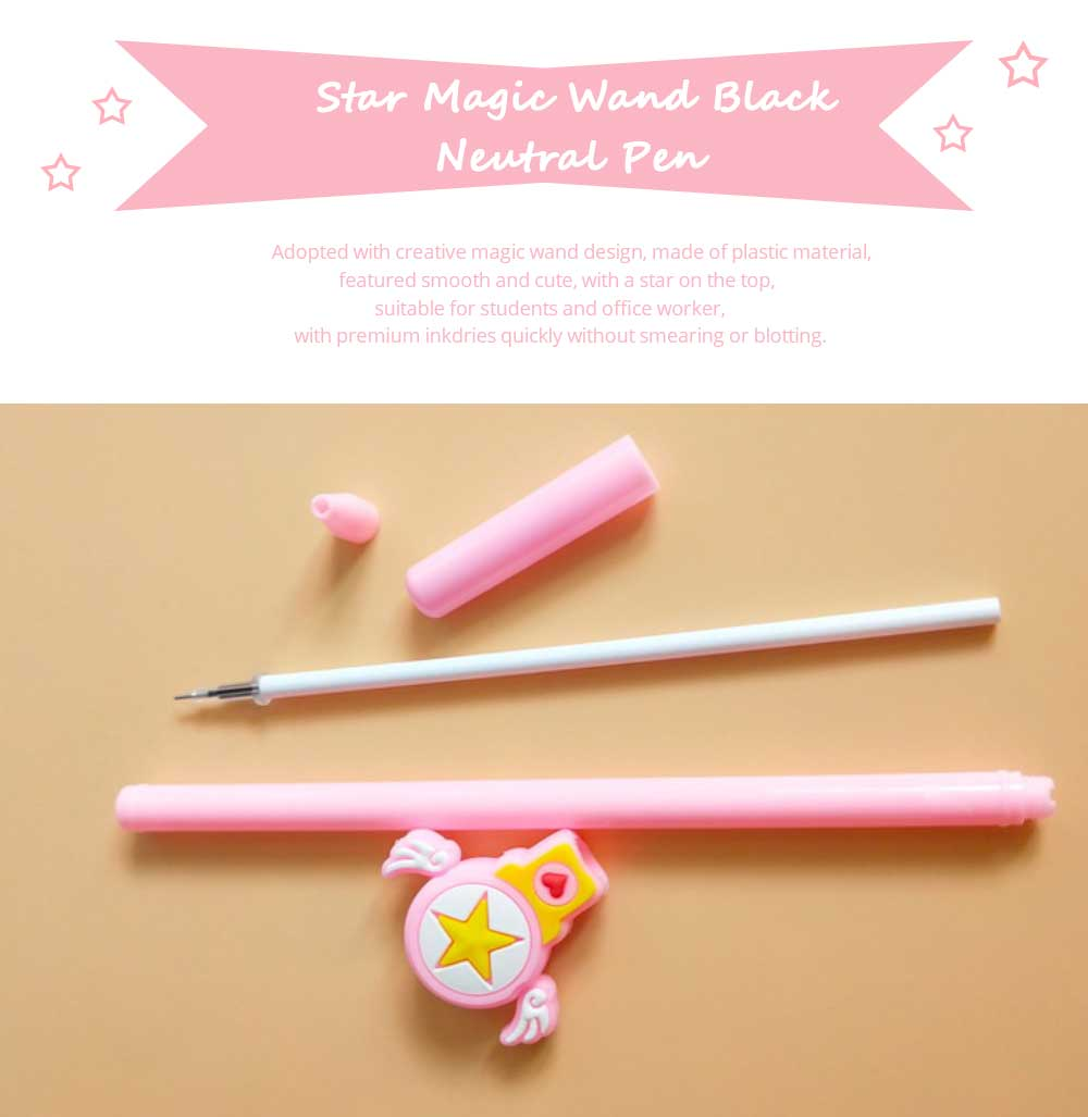 Creative Pen - Neutral Pen with Star Magic Wand for Student and Office 7