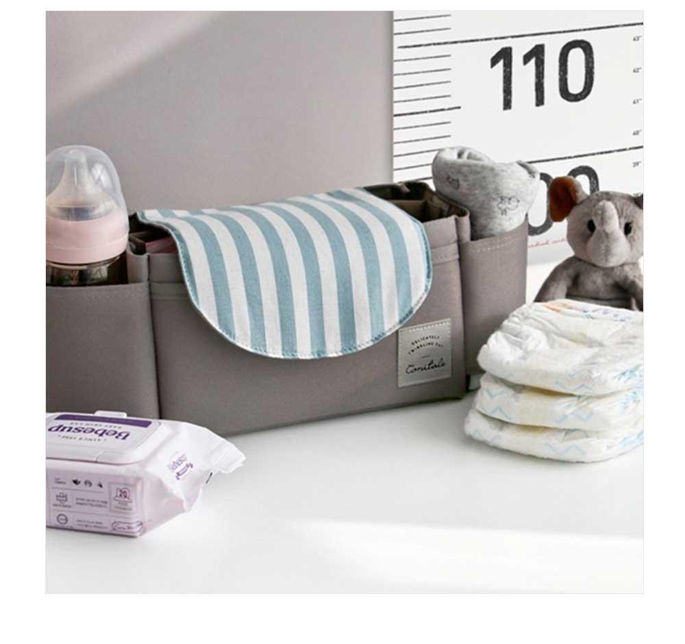 Stroller Organiser Bag Phone Pram Stroller Bag Buggy Storage Pushchair Bag Organizer Bottle Cup Pouch Holder Handbag 5