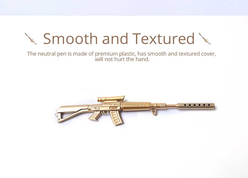 Cool Pen - Sniper Rifle Sculpt Black Neutral Pen, Unique Pen for Gifts 1
