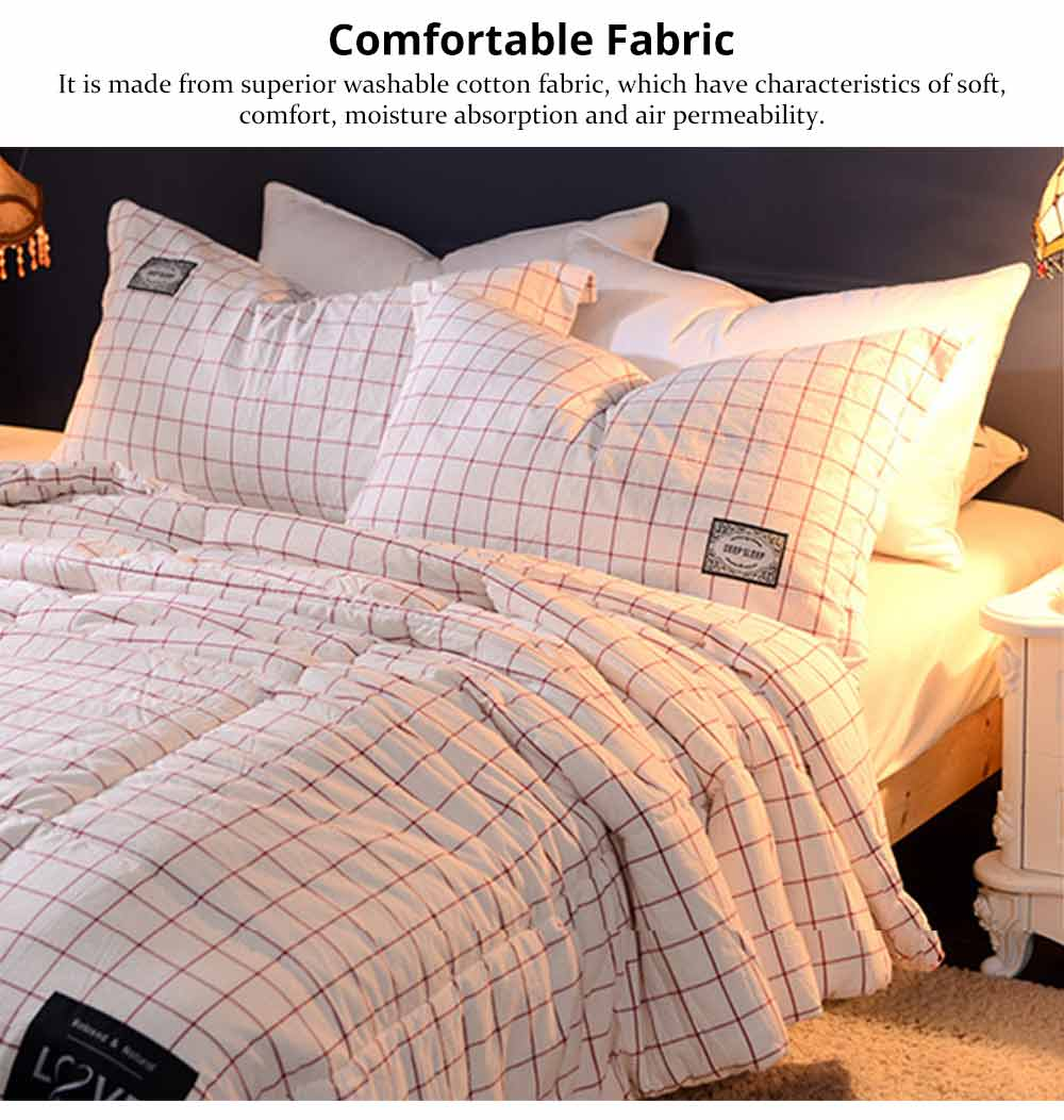 Washable Quilt - Thickened Cotton Bed Sheet Single Double King Size 1