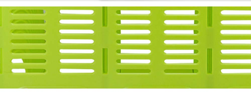 Desk File Holder - Fashion Document Rack Office Organizers Cabinet, Bright Color, HIPS Plastic 6