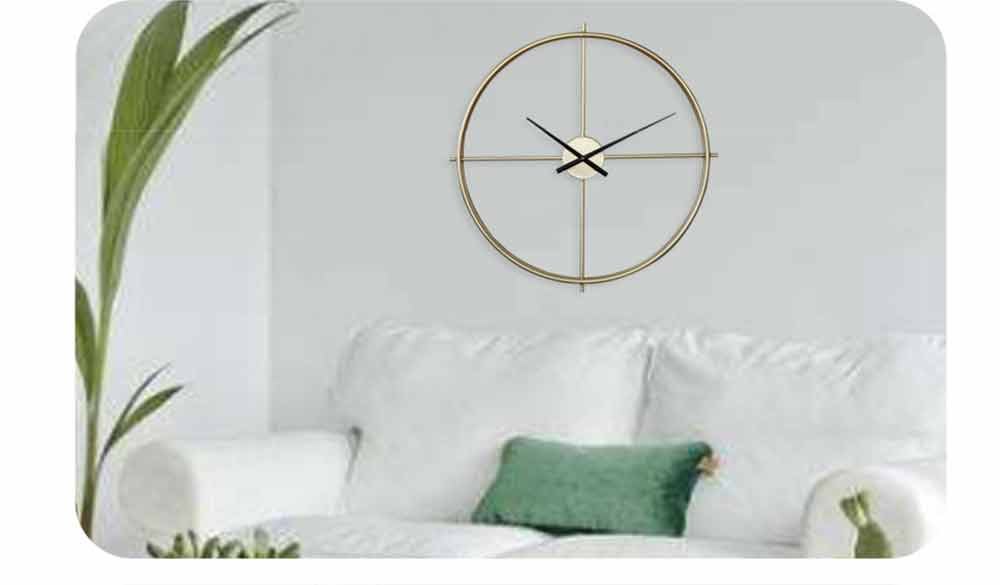 Quartz Wall Clock Round - Minimalist Modern Design Wall Clock 6