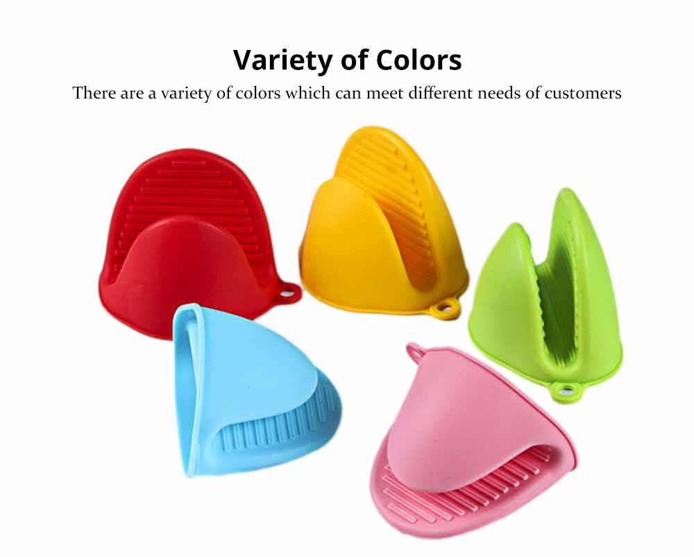 Microwave Oven Gloves, Silicone Heat Resistant Gloves Hot Pot Holder Kitchen Baking Oven Mitts 3