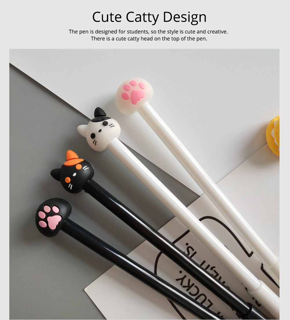 Neutral Pen - Special Catty Thin Pen Student Examination, Black, 0.5mm 2