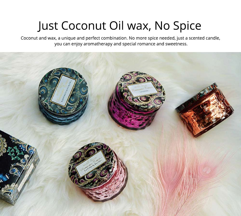 Coconut Wax Essential Oil Candle, Aromatherapy Wax Scented Candles For Travel Party Birthday Wedding Home Decor 3