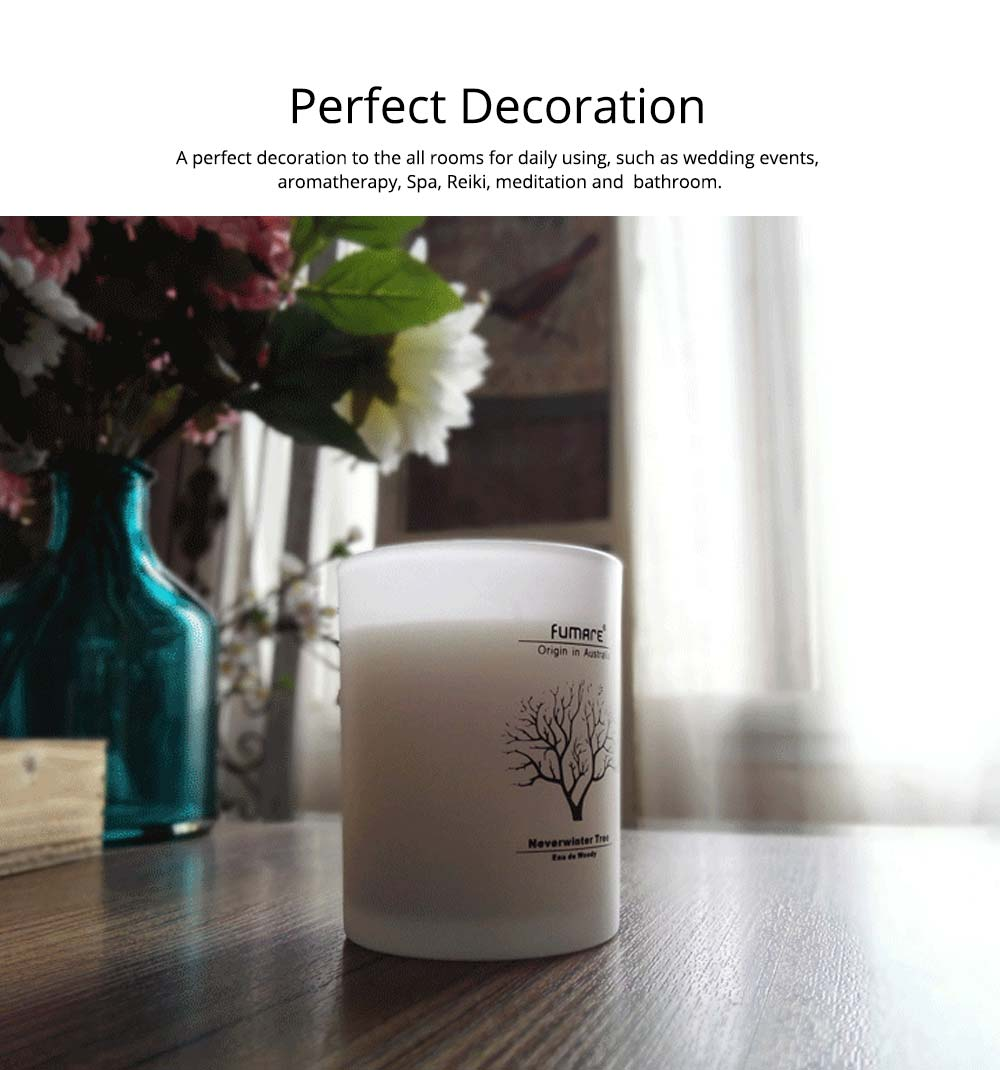 Fragrance Soy Wax Aromatherapy Candle Scented Jar Candles for Stress Relief & Relaxation 5