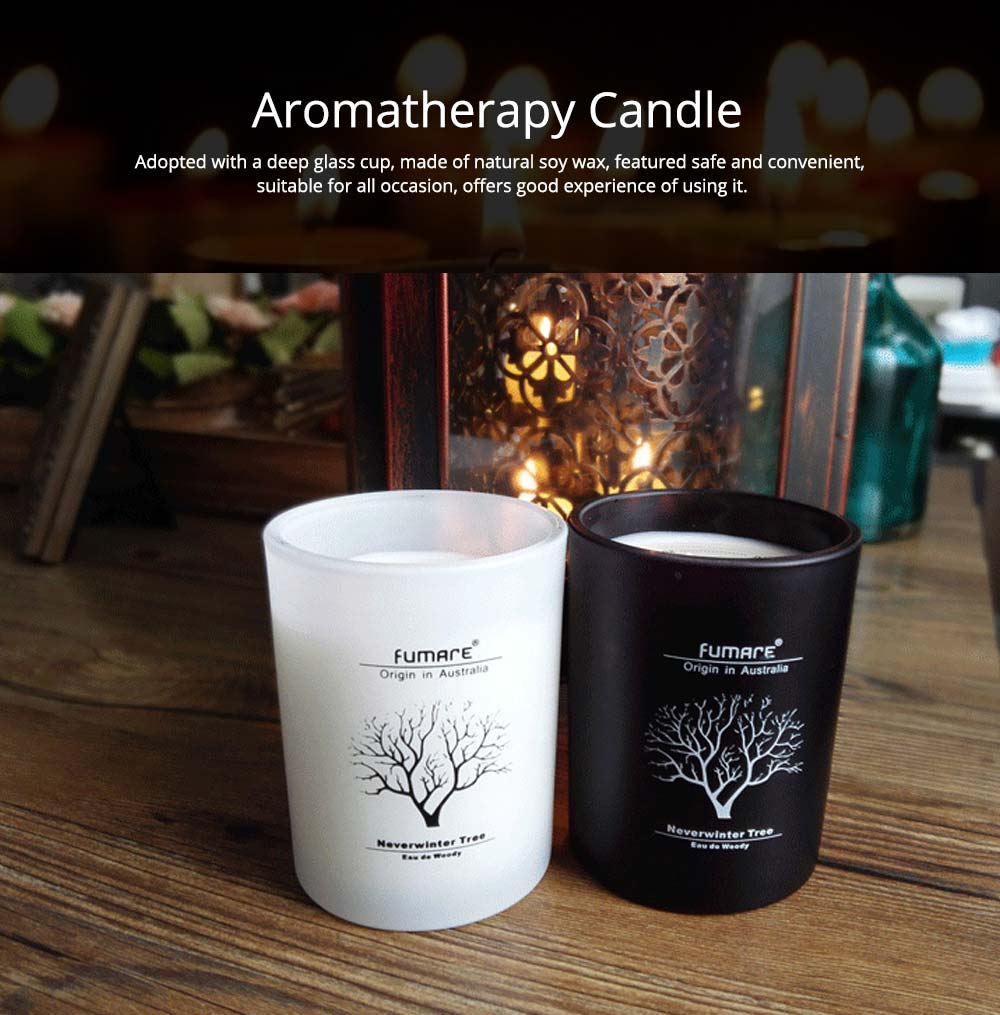Fragrance Soy Wax Aromatherapy Candle Scented Jar Candles for Stress Relief & Relaxation 0