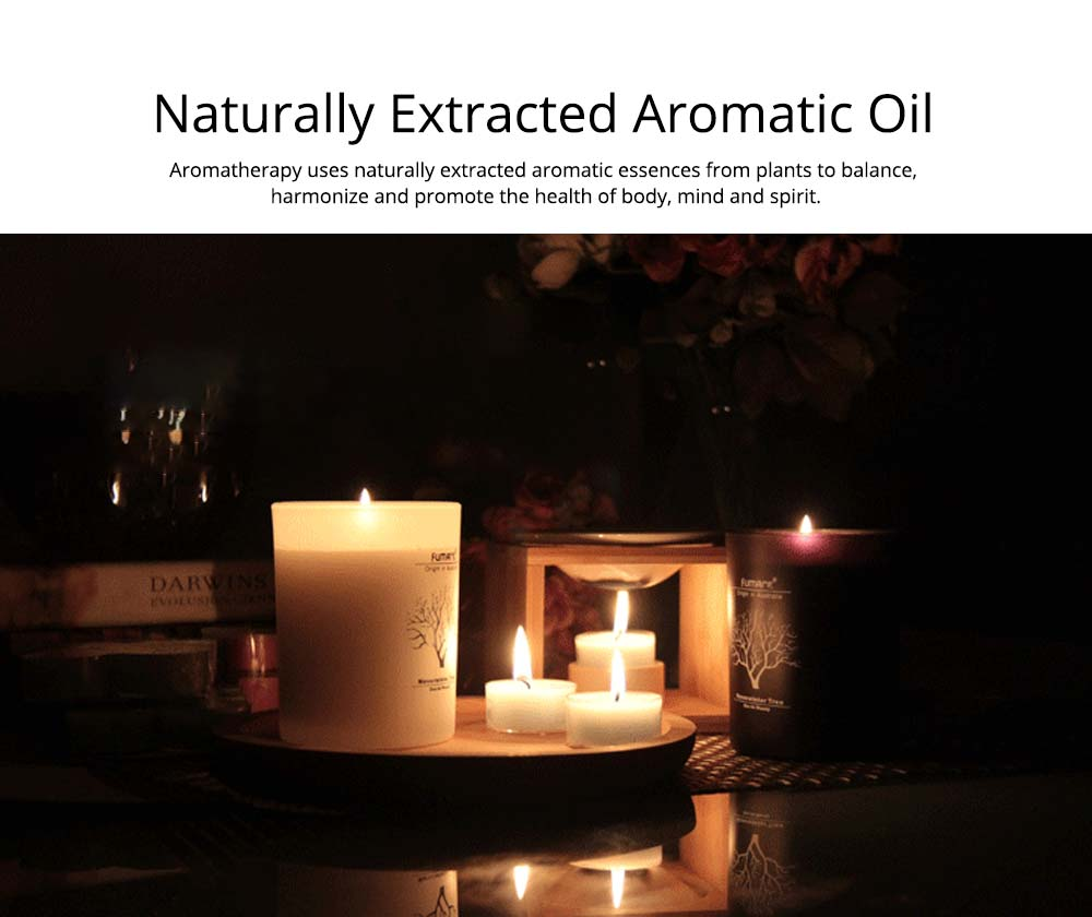 Fragrance Soy Wax Aromatherapy Candle Scented Jar Candles for Stress Relief & Relaxation 4