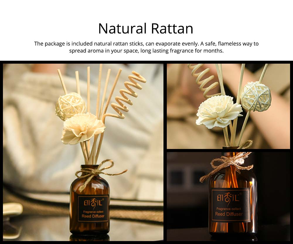 Essential Oil Rattan Aroma - Safe French Volatile Aromatherapy, Pregnant Child No Fire Aroma, 50ml 2
