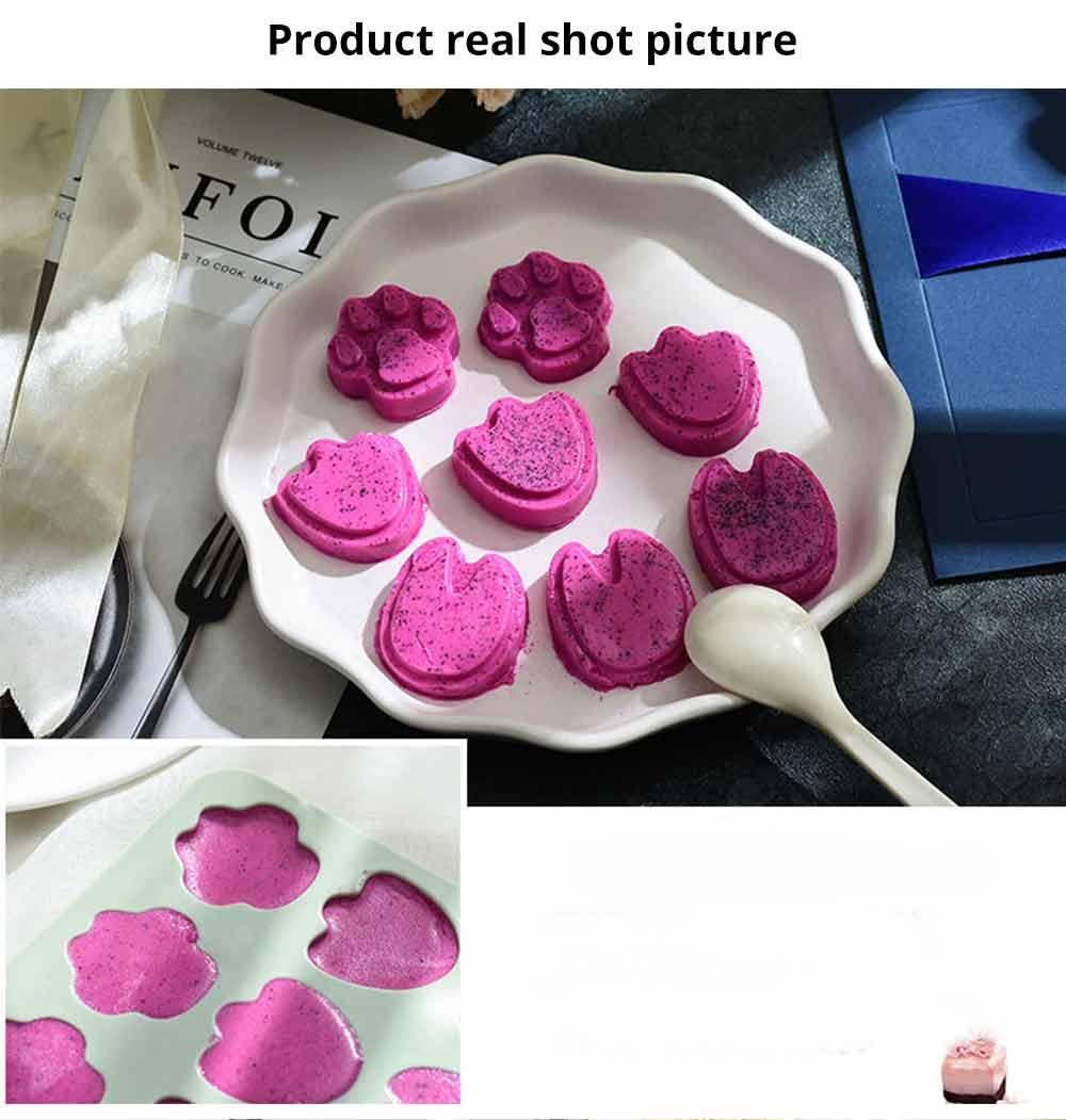 Cartoon Cake Mould, Paws Nonstick Baking Mold, Durable Soap Mold 11