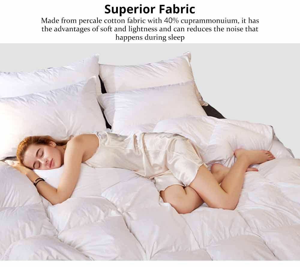 95 Goose Down Quilt  - Thicken Winter Peluche Duvet, Single Double King Size Bed Sheet, Sets Duvets 1