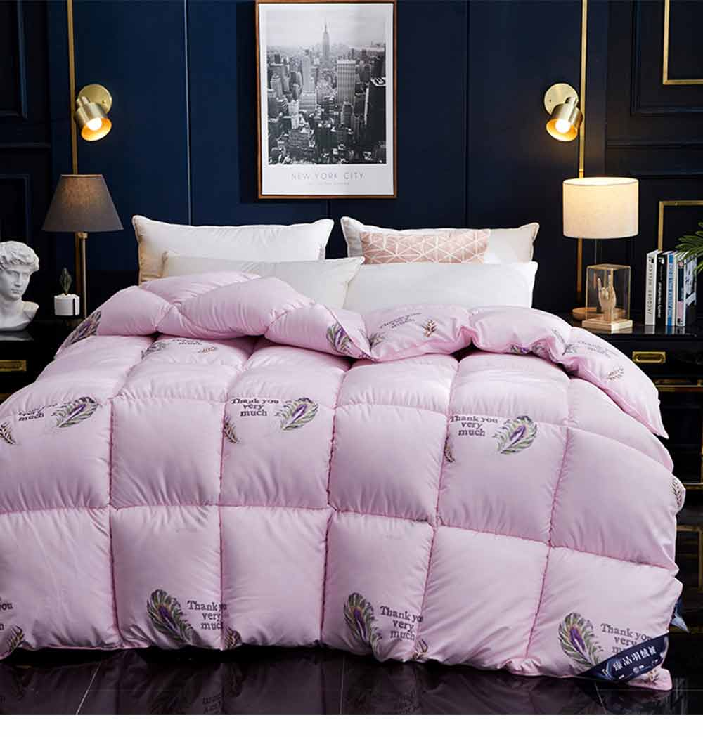 Goose Down Quilt - Single Double King Size Bed Sheet, Duvet Cover, Sets Duvets 5