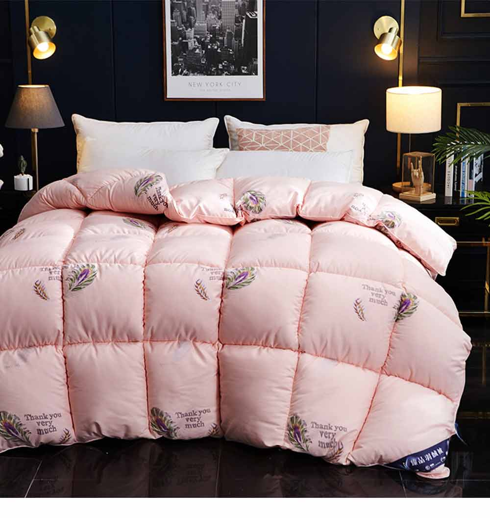 Goose Down Quilt - Single Double King Size Bed Sheet, Duvet Cover, Sets Duvets 6