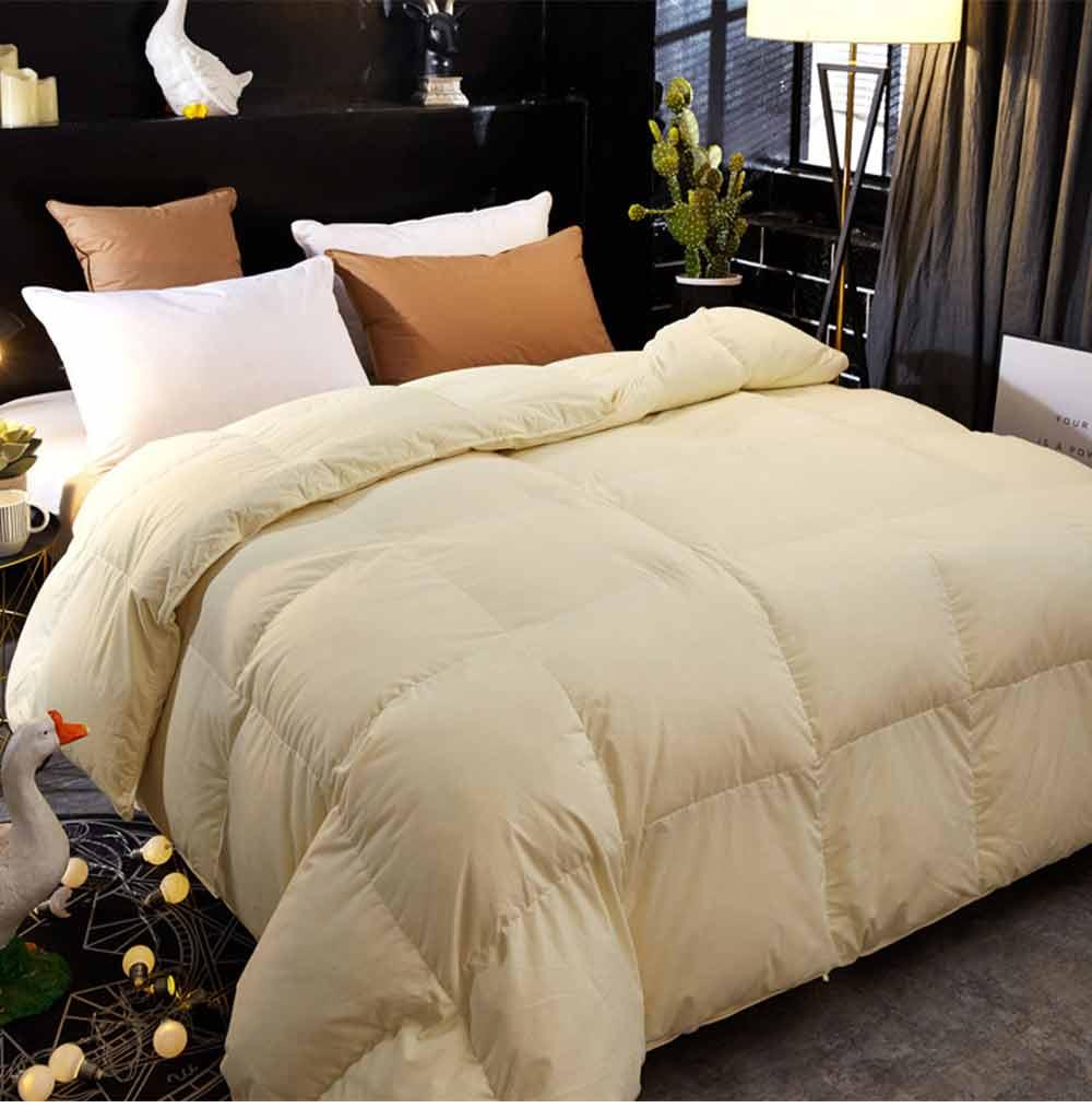 95 Goose Down Quilt  - Thicken Winter Peluche Duvet, Single Double King Size Bed Sheet, Sets Duvets 6