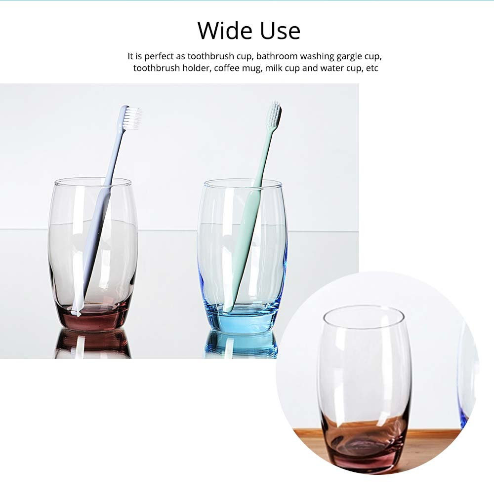 Bathroom Couple Cup, Transparent Toothbrush Cup For Household And Hotel Use 3