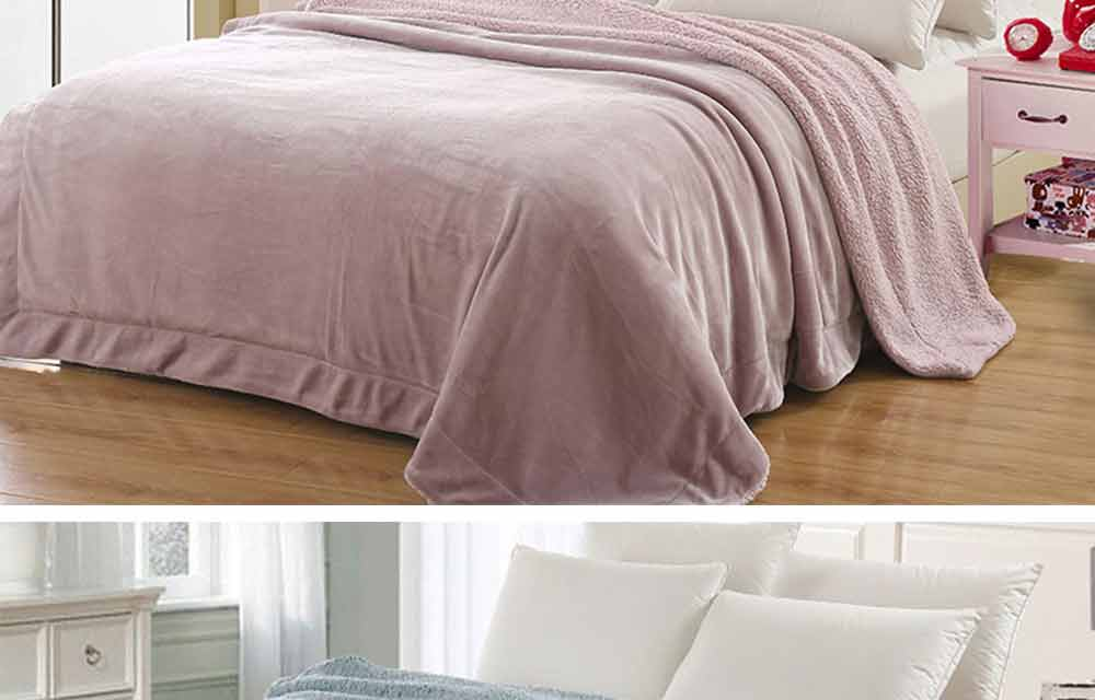 Flannel Fleece Luxury Blanket, Soft Warm Single Double King Bed Blanket, Throws 4