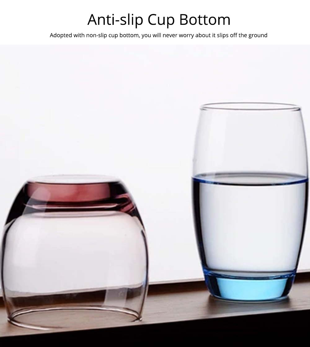 Transparent Toothbrush Cup, Exquisite Toothbrush Holder Glass Cup 3