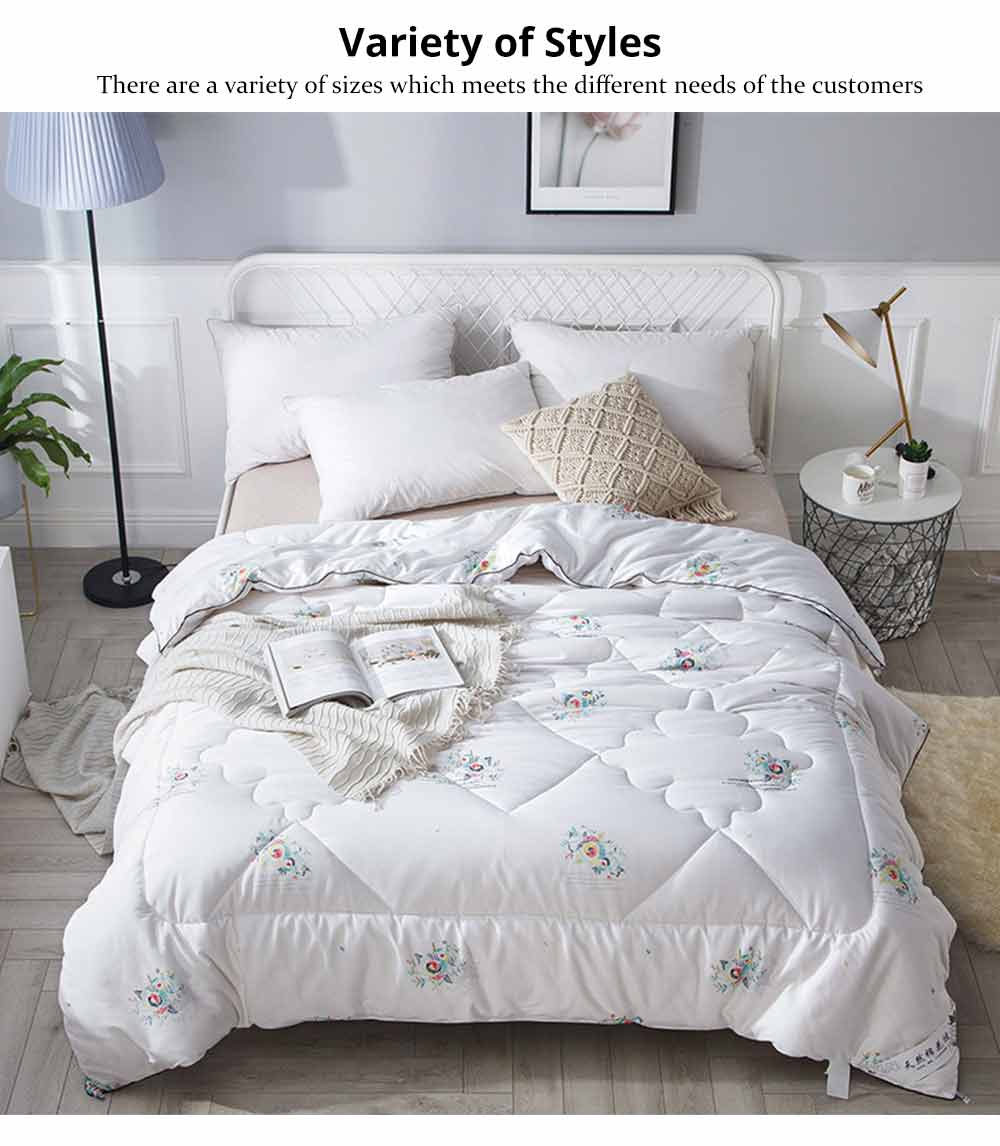 Organic Cotton Quilt - Thickened Single Double King Size Bed Sheet, Duvet Cover, Sets Duvets, Bedding Duvet 10