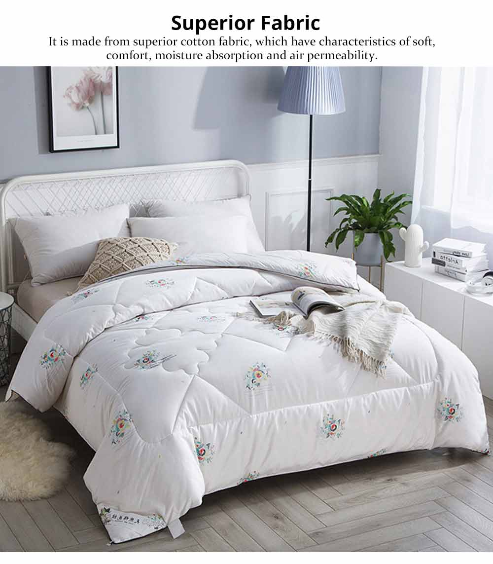 Organic Cotton Quilt - Thickened Single Double King Size Bed Sheet, Duvet Cover, Sets Duvets, Bedding Duvet 7