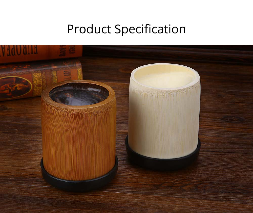 Bamboo Dice Cup Durable Anti-impact Dice Storage, Party Bar KTV and Casino Pub Gambling Poker Game Dice Cup 6
