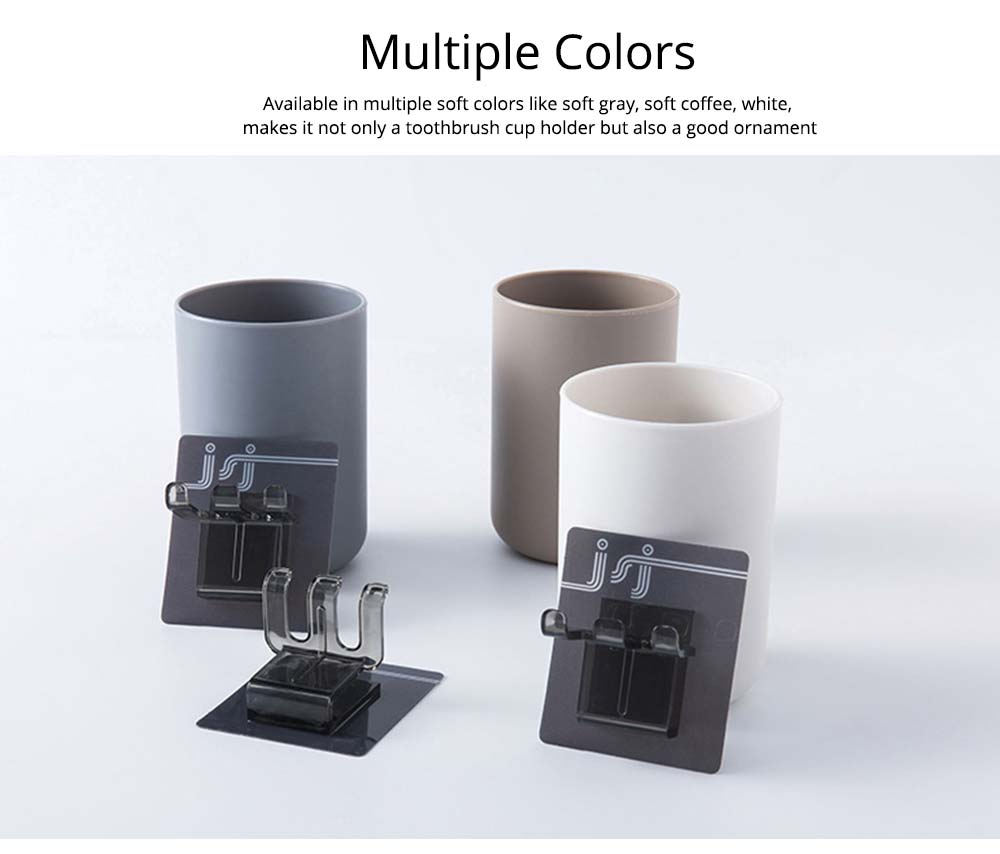 Wall-mounted Toothbrush Holder, Toothbrush Cup, Elegant Color Mouth Cup 8