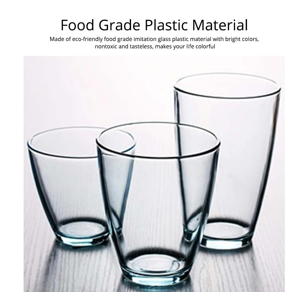 Transparent Glass Cups, Household Milk Juice Cups, Heat-resistant Toothbrush Glass Cups for Hotel Coffee Shop 1