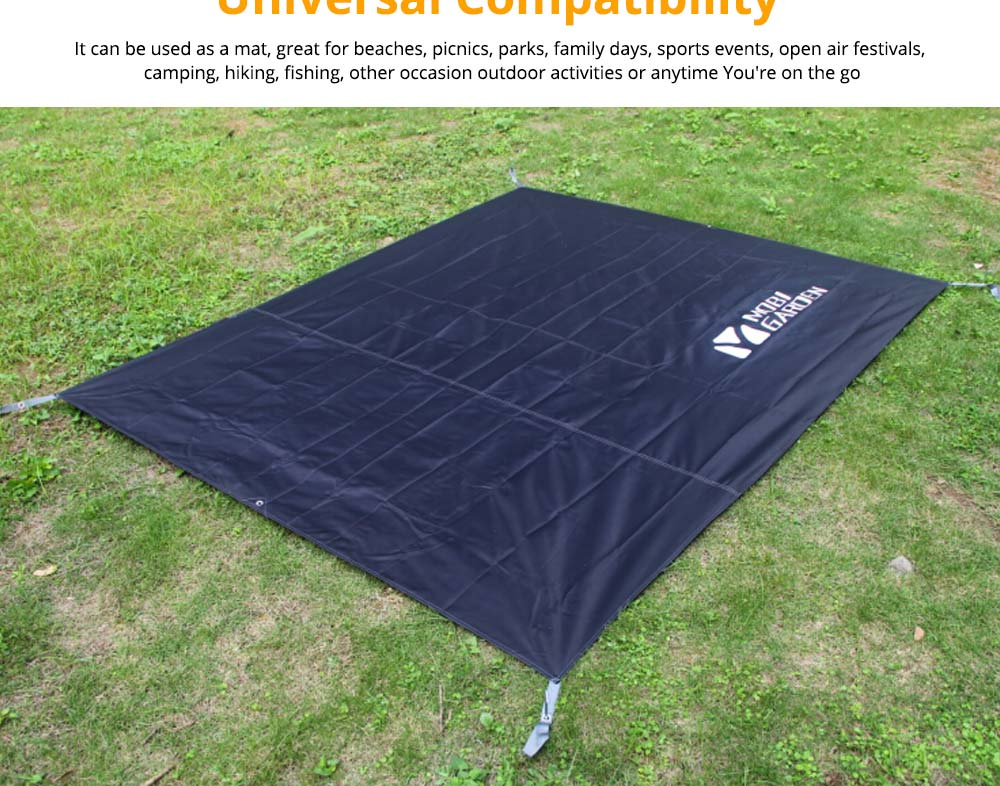 Sand Proof Beach Mat, Universal Flodable Waterproof Outdoors Beach Mat for Camping Picnic Hiking 8