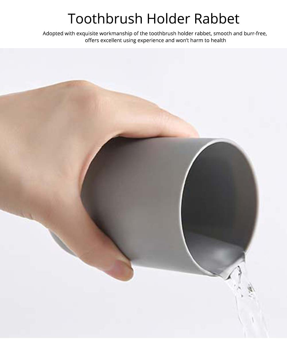 Wall-mounted Toothbrush Holder, Toothbrush Cup, Elegant Color Mouth Cup 7
