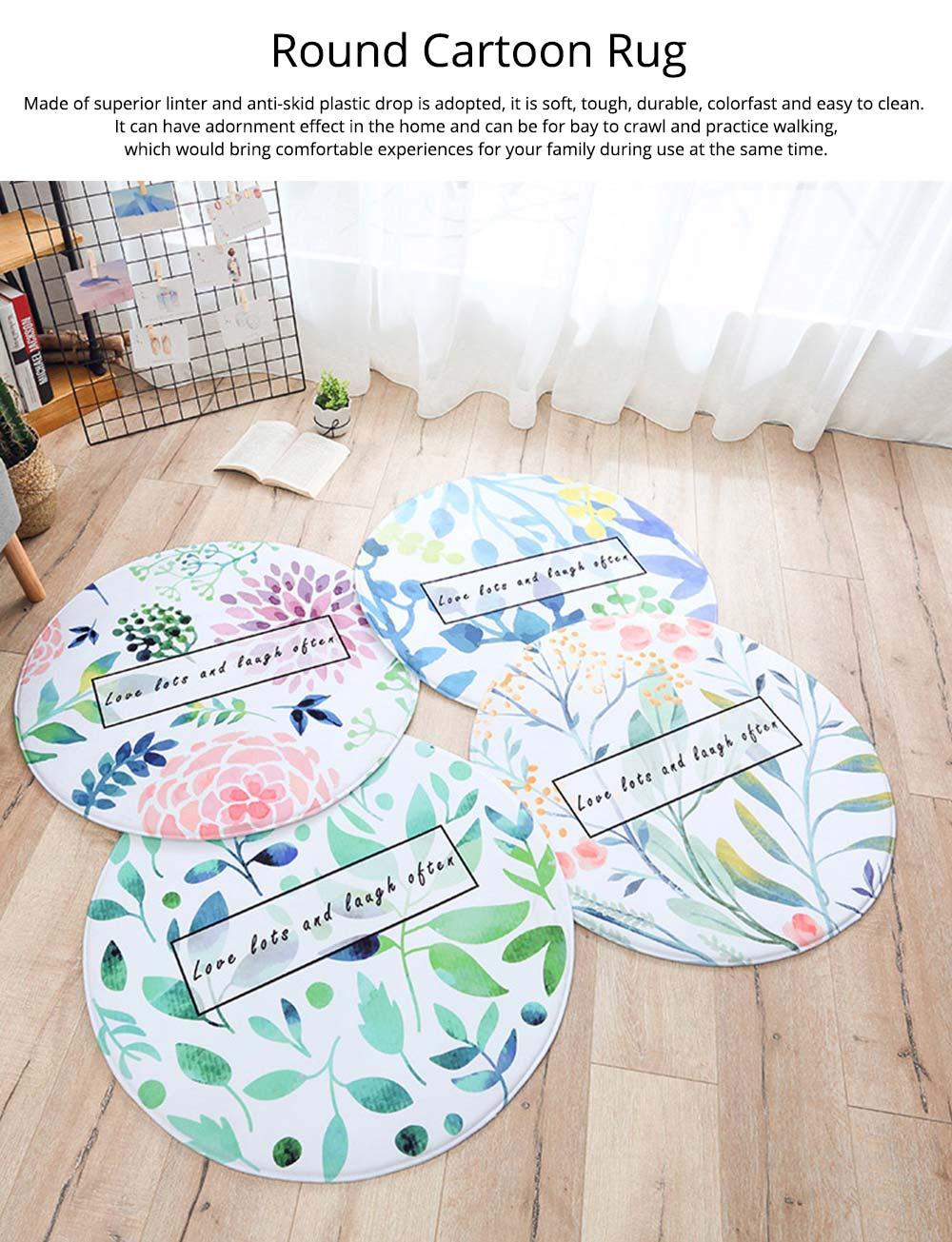 Chenille Carpet Fluffy Rugs, Baby Play Floor Mat, Non-slip Rugs for Living Room, Bedroom 6