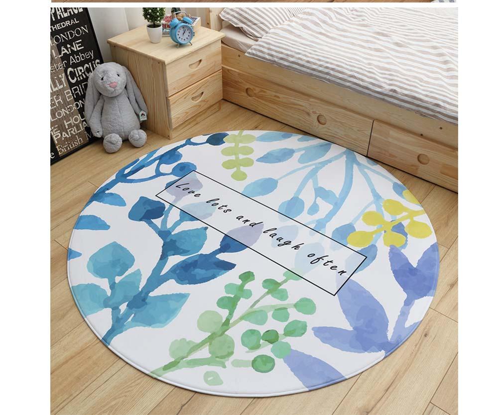 Chenille Carpet Fluffy Rugs, Baby Play Floor Mat, Non-slip Rugs for Living Room, Bedroom 8
