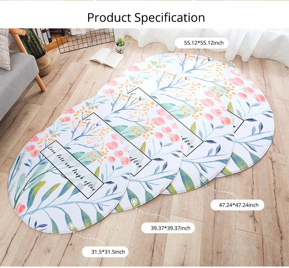 Chenille Carpet Fluffy Rugs, Baby Play Floor Mat, Non-slip Rugs for Living Room, Bedroom 13