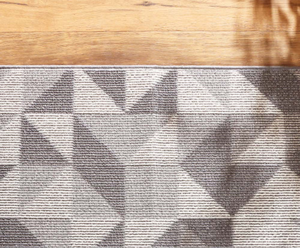 Double Layer Woven Carpet, Modern Style Non-slip Rugs for Living Room, Bedroom 4