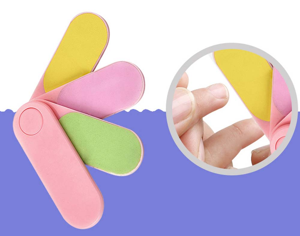 Baby Nail Trimmer, 5 PCS Multifunctional Infant Manicure Pedicure Kit, Essential Nail Care Kit for Newborn Baby 3