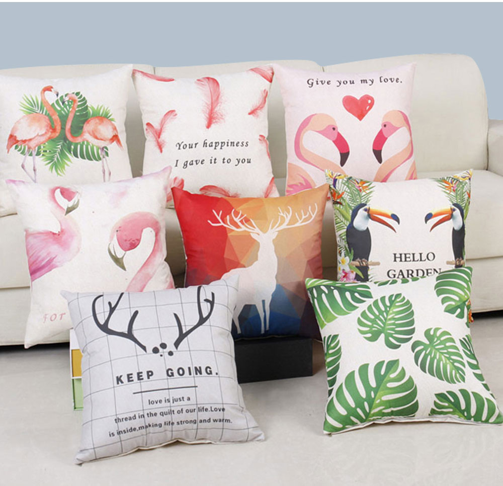 Fashion Pillow with Core Couple's Love Series, Home Decoration Dining Room Bedroom Cottonblend Cushion 14