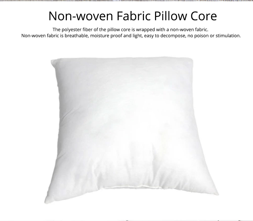 Colorful Plaids Pillow Case Core, Floral Linen Cushion Home Decoration 5