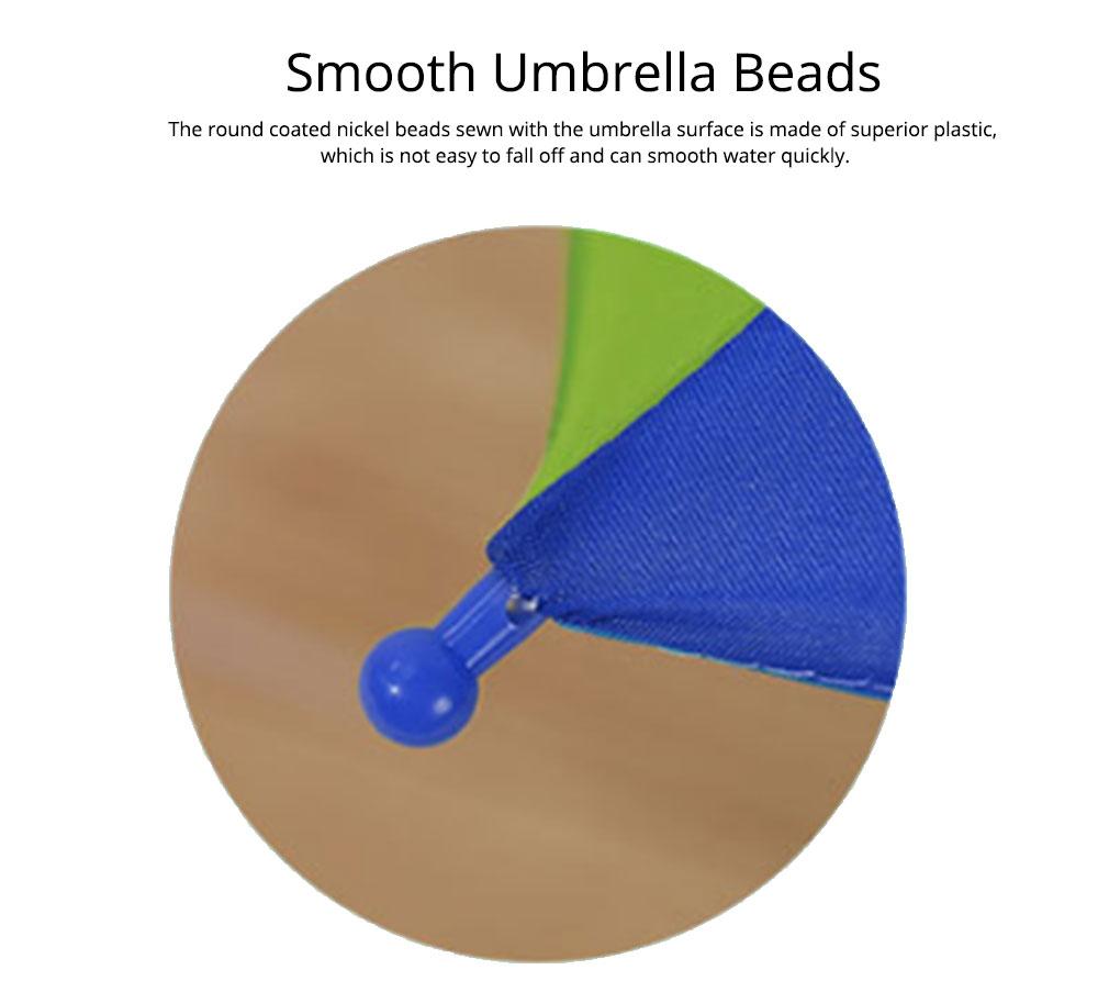Cute Cartoon Painting Umbrella for Children, Long-handle Non-automatic Sun Rain waterproof Umbrella 5