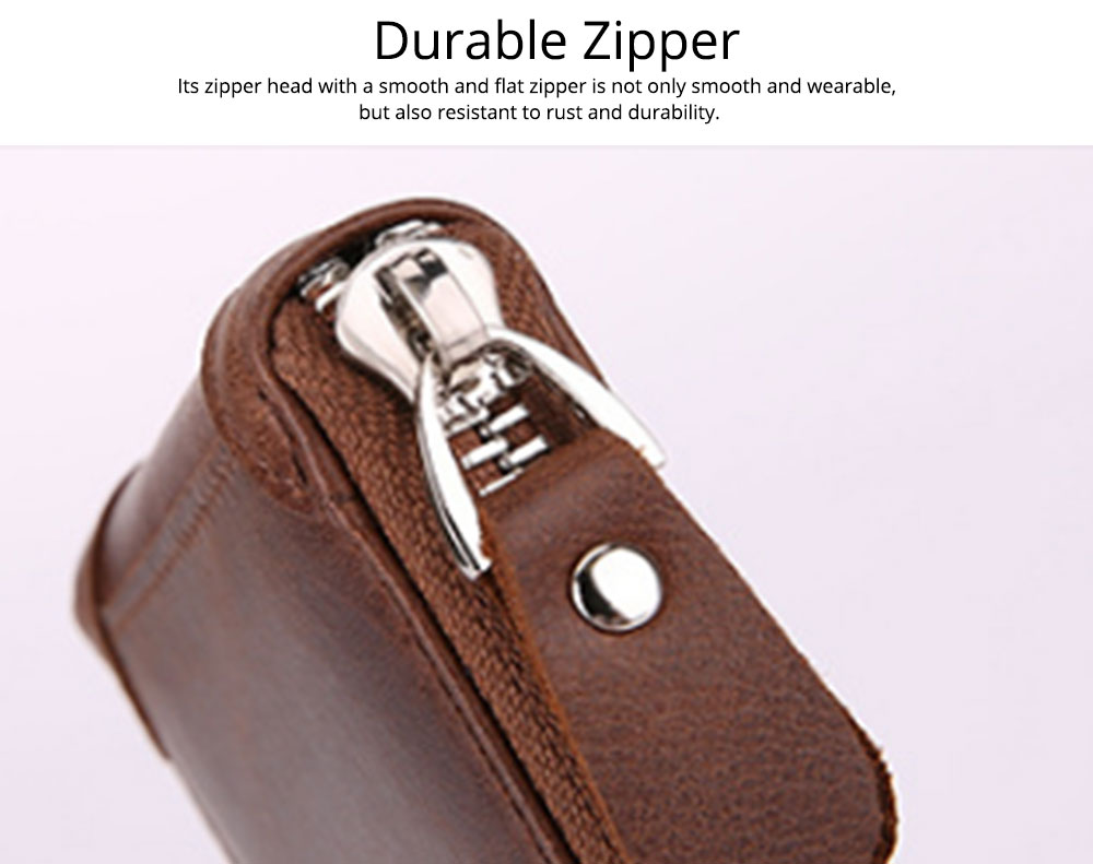 Women's Short Zipper Wallet, Korean Casual Anti-magnetic Clutch for Ladies, Fashion New Leather Coin Purse 1