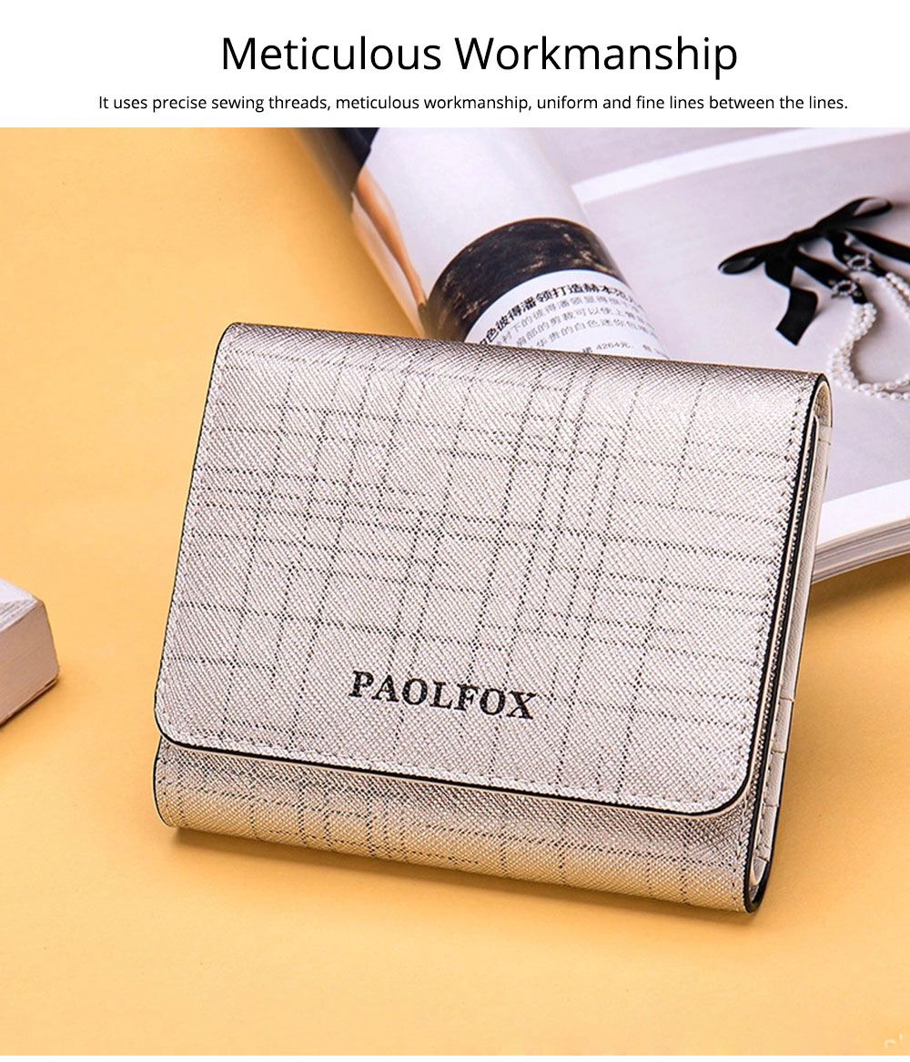 Women's Long Clutch for Shopping Dating Party, Korean Large Capacity Female Purse, Vegetable Tanned Cowhide Clutch  5