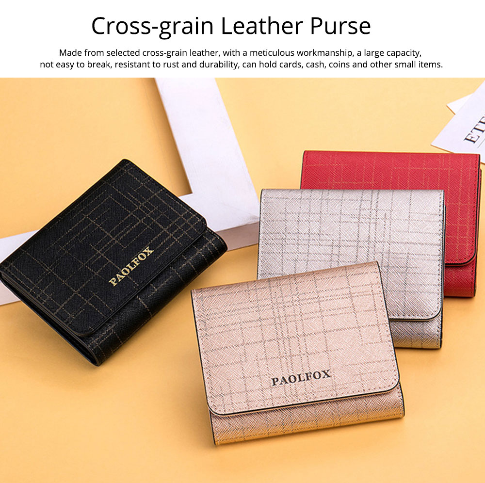 Women's Long Clutch for Shopping Dating Party, Korean Large Capacity Female Purse, Vegetable Tanned Cowhide Clutch  7