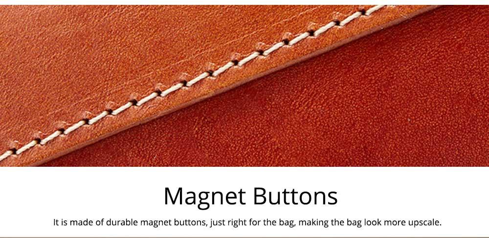 Retro Female Shoulder Messenger Bag, Top Layer Cowhide Handbag with Shoulder Strap, Vintage Messenger Handbag 2019 6