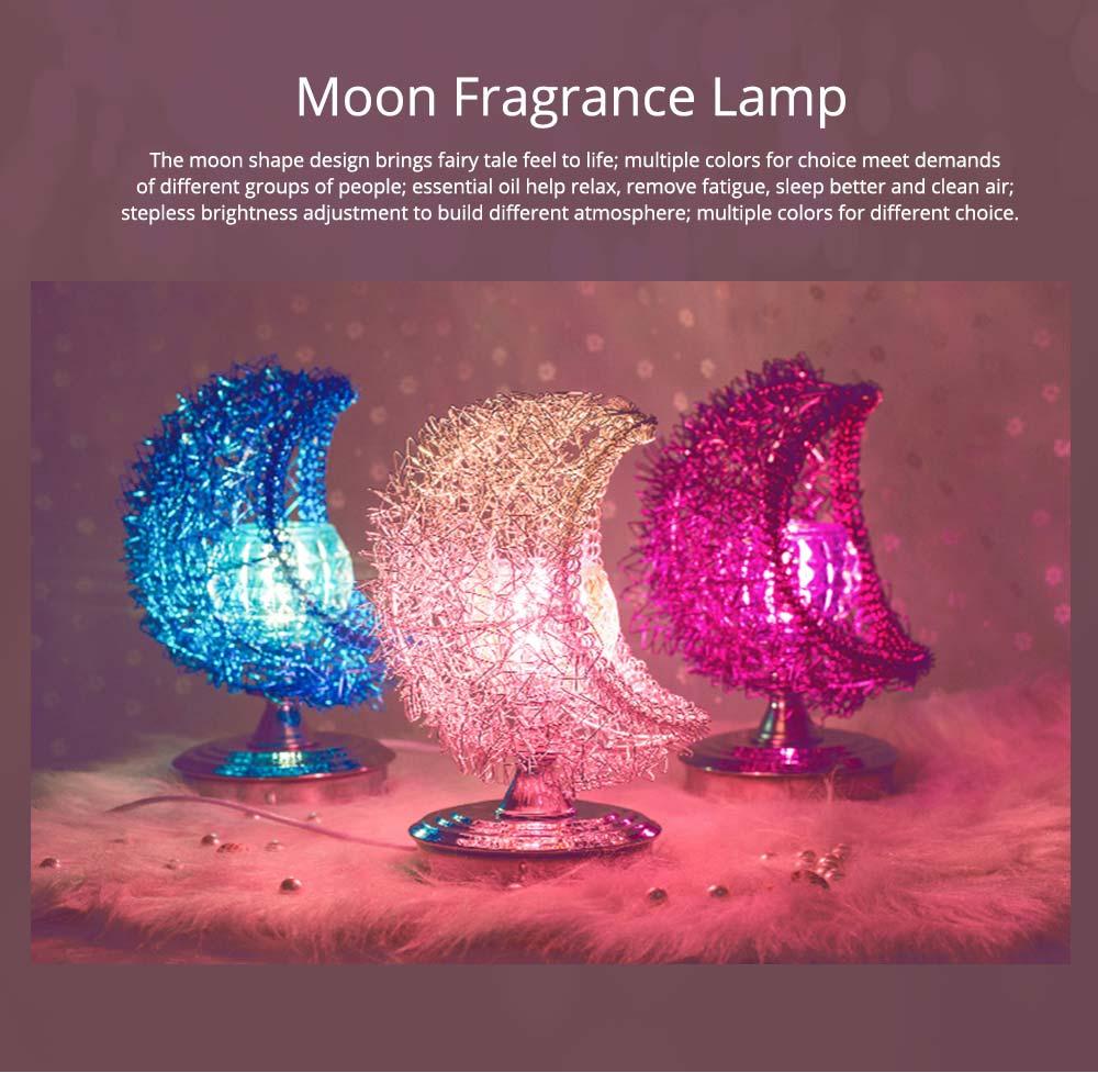 Fragrance Lamp - Creative Moon Fragrance Lamp for Weddings Birthday 0