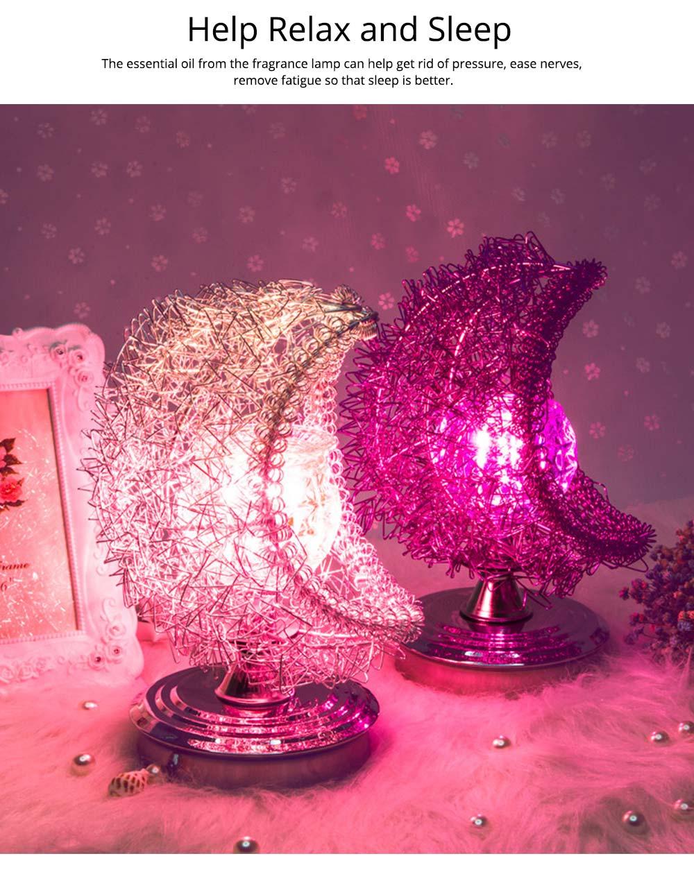 Fragrance Lamp - Creative Moon Fragrance Lamp for Weddings Birthday 2